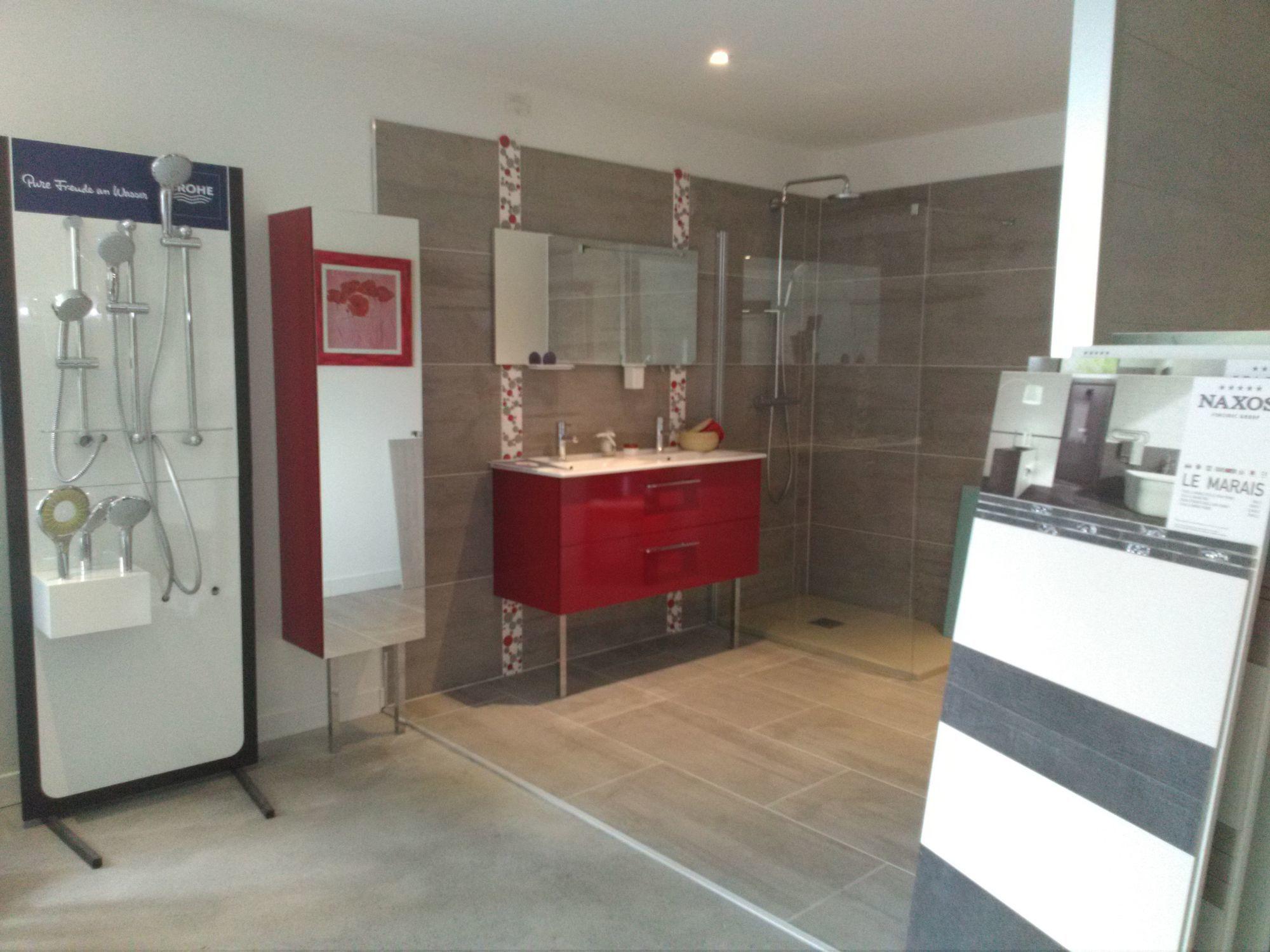 salle de bain bourges centre chauffage plomberie vier douche 18. Black Bedroom Furniture Sets. Home Design Ideas